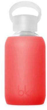 BKR Sheer Fiery Red Glass Water Bottle/8.4 oz.