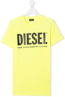 Diesel TEEN logo print T-shirt