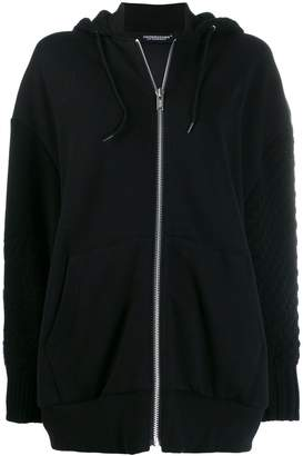 Undercover oversized padded hoodie
