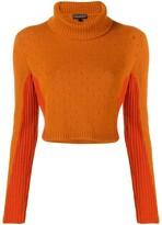 Cashmere In Love cashmere two tone jumper