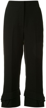 3.1 Phillip Lim Belted Cuff Trousers