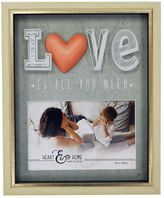 """New View Love Is All You Need"""" 5.5"""" x 3.5"""" Shadowbox Frame"""