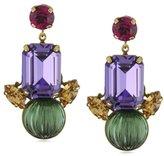 "Anton Heunis Art Deco Renaissance"" Stylish Modern Vintage Earrings"