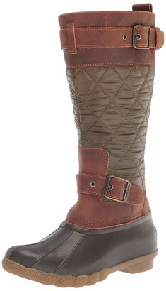 Sperry Saltwater Tall Buckle Nylon Quilt