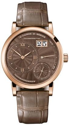 A. Lange & Söhne Rose Gold Saxonia Manual Watch 35mm