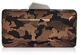 Sondra Roberts Camo Box Clutch