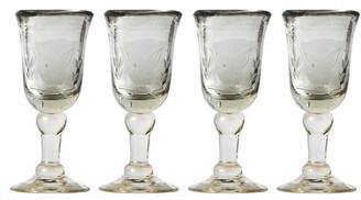 Jan Barboglio Mariposa Cordial Glass Set
