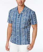 Tommy Bahama Men's Takoda Tiles Geo-Print Pocket Shirt