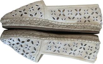 Michael Kors White Cloth Espadrilles
