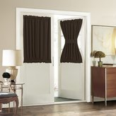 Aquazolax Thermal Insulated Blackout Curtains Solid Door Panel Premium - 54 x 40 Inches
