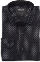 Thumbnail for your product : Nordstrom Trim Fit Neat Stretch Non-Iron Dress Shirt