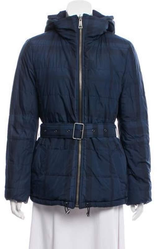 Burberry Reversible Down Jacket Black Reversible Down Jacket