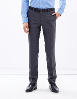 Alberto Charcoal Suit Trousers