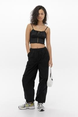 BDG Saturn Extreme Black Cargo Trousers - Black XS at Urban Outfitters