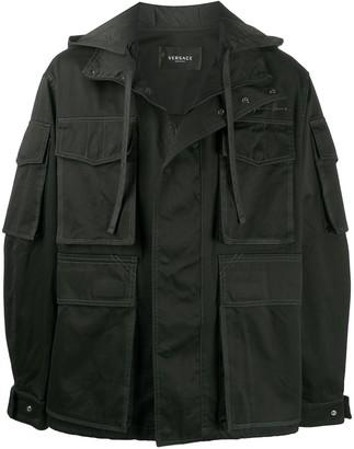 Versace GV Signature military-style jacket