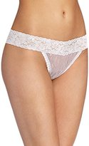 Maidenform Women's All Lace Thong Panty, Body Beige, One Size