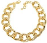 """RJ Graziano Star Turn"""" Bold Curb Link 17-1/4"""" Necklace"""