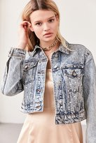 Kimchi & Blue Kimchi Blue Star Party Embellished Denim Trucker Jacket