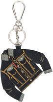 DSQUARED2 denim jacket keyring - women - Cotton/Polyester/Polyurethane/zamac - One Size