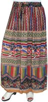 Maple Clothing Womens Summer India Long Skirts Ankle Length Printed Indian Clothing