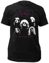 Impact Mott The Hoople Glam Rock Band Music Group Faces Adult Fitted Jersey T-Shirt Tee