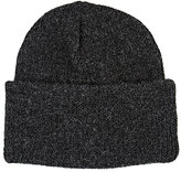 CA4LA Men's Rib-Knit Alpaca-Blend Beanie-GREY