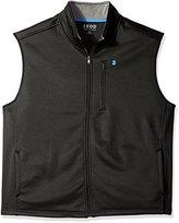 Izod Men's Big and Tall Spectator Solid Fleece Vest