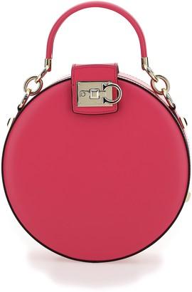Salvatore Ferragamo Studio Round Handbag