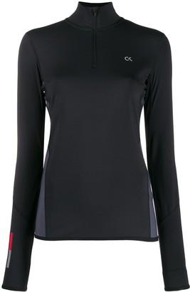 Calvin Klein Logo Print Performance Sweatshirt
