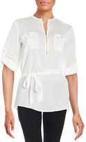 Calvin Klein Zip Placket Tunic
