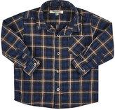 Nupkeet Plaid Flannel Button-Front Shirt