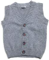Carter's Baby Boys' Button Down Vest - Grey