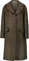 Jil Sander Oversized textured wool-blend coat