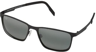 Maui Jim Cut Mountain (Black/Neutral Grey) Fashion Sunglasses