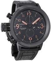 U-Boat U Boat Flightdeck Automatic Chronograph Black Dial Men's Watch