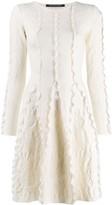 Valenti Antonino short flared dress