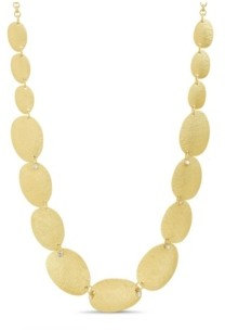 Catherine Malandrino Women's Oval Link Chain Necklace