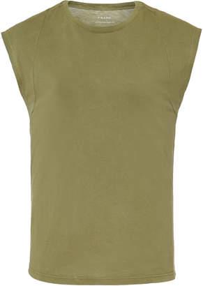 Frame Le Mid Rise Cotton-Jersey T-Shirt