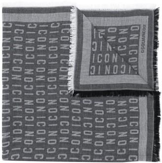 DSQUARED2 Icon foulard