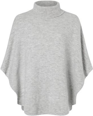 Accessorize Cosy Knit Pullover - Grey