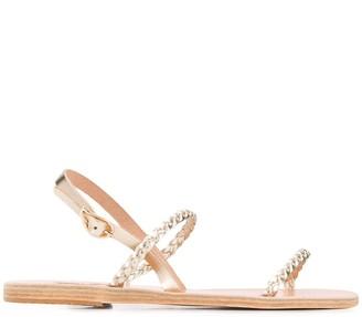 Ancient Greek Sandals Irida braided sandals