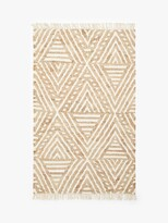 Thumbnail for your product : John Lewis & Partners Broken Triangles Jute Rug