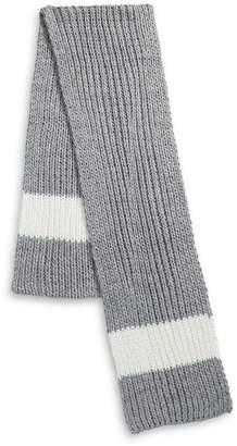 HBC Stripes Ice Stripe Hand-Knit Scarf