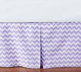 Pottery Barn Kids Harper Chevron Bed Skirt