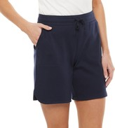 Croft & Barrow Petite Knit Bermuda Shorts