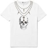 Alexander Mcqueen - Slim-fit Skull-print Cotton-jersey T-shirt