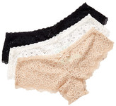 Honeydew Intimates Bri Lace Hipster Panty - Pack of 3