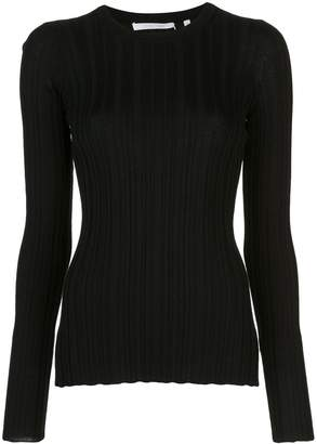 Helmut Lang ribbed long-sleeved top