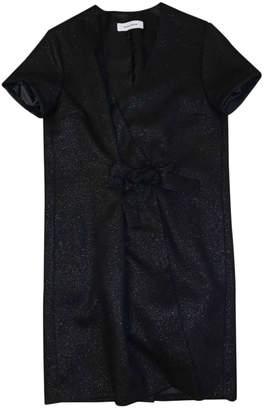 Mauro Grifoni Black Wool Dress for Women