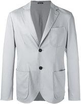 Giorgio Armani two button blazer - men - Spandex/Elastane/Virgin Wool/Mulberry Silk - 52